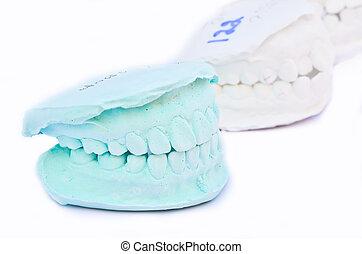 green teeth, model