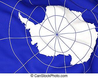 Flag of antarctica