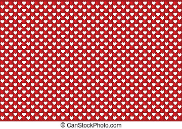 Heart Texture - Valentine Day Pattern With Hearts