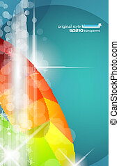 Abstract Business Design for futuristic poster or business...
