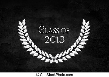 diamond laurel for 2013 graduation - Diamond design in...