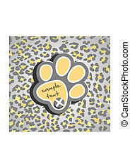 Leopard print - Abstract background with leopard print