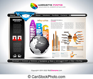 Hitech Website - Elegant Design for Business