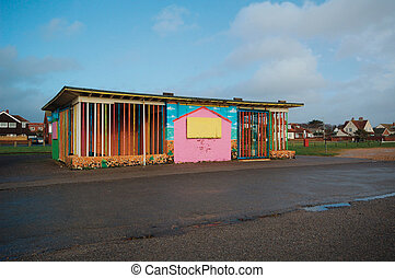 Derelict Play ground, Littlehampton - Derelict, youth...
