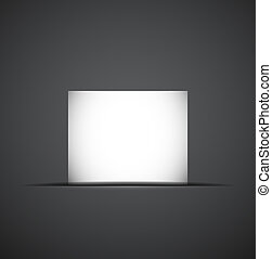 Web box shadow modern design - Web box shadow Vector...