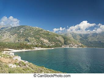 albania ionian coast - south albania ionian coast