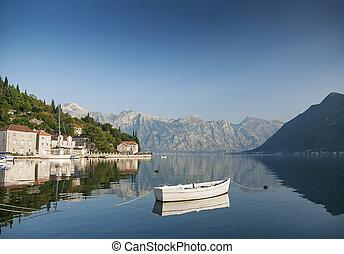 perast montenegro - perast in kotor bay montenegro