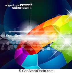 Abstract background for corporate brochure, business...