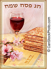 spring holiday of Passover and its attributes, with an...