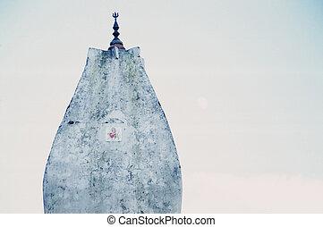 punta, hindú, santuario