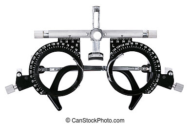 Isolated Eyesight Testing Spectacles - Spectacles used for...