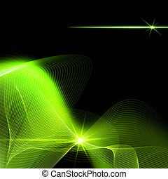 Abstract backgrounds with glowing lines for your design