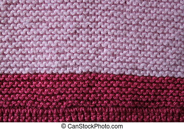Pink Knitted Baby Blanket - My wife makes these baby...