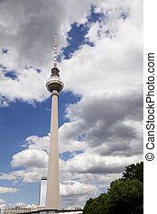 Berlin Television Tower (Fernsehturm) - View at the world...
