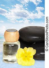 Beautiful Spa massage background.