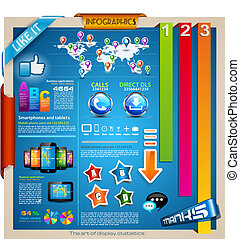 Modern Infographic design elements set - Infographic...
