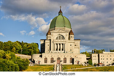St.Joseph Oratory in Montreal - St.Joseph Oratory and...