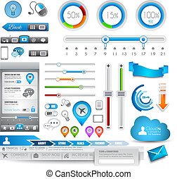 Infographic elements - Quality Set - Infographic elements -...
