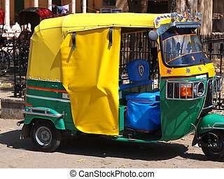 rickshaw taxi in New delhi ,India