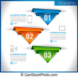 Infographic template for statistic data visualization Modern...