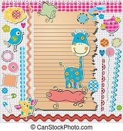 scrapbook kit