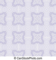 Vector seamless guilloche background - Vector seamless...