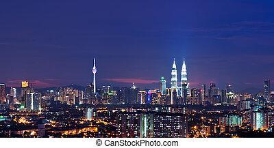 Kuala Lumpur city - Capital city of Malaysia, Kuala Lumpur...