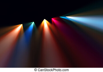 Colorful concert lighting - Image of Colorful concert...