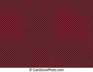 Red carbon fiber texture background