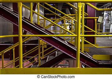Industrial building interior - Photo of a modern industrial...