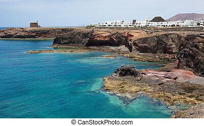 Lanzarote - Playa Blanca in Lanzarote, Canary islands,...