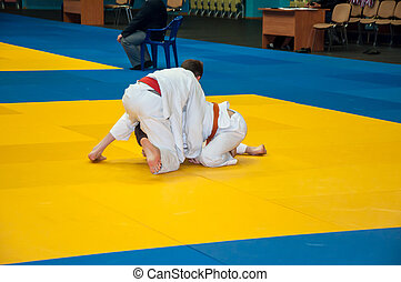Judo competitions among adolescents - Competitions on Judo...