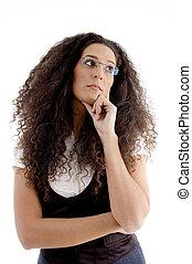 cute latin american model posing - cute Latin american model...