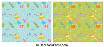 Holiday seamless pattern.vector color background