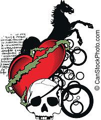 heraldic heart coat of arms5