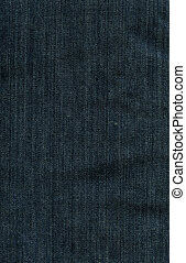 Denim Fabric Texture - Imperial Blue - High resolution scan...