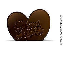 trufa,  chocolate