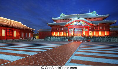 Shuri Castle in Okinawa
