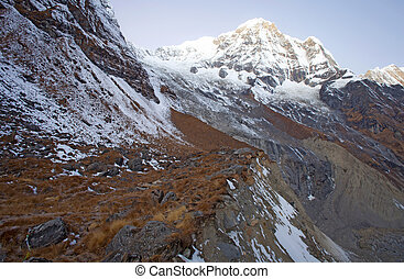 Annapurna Himal region of north central Nepal