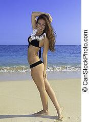 beautiful teenager in bikini - beautiful teenage girl in...