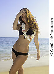 beautiful teenager in bikini - beautiful teenage girl in...