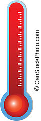 Thermometer - Illustration Of Medical Thermometer