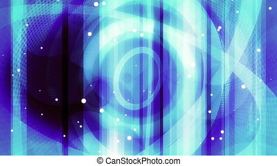 Blue Geometric Abstract Looping Animated Background 30 FPS...