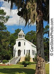 Historic Church in St. Marys - Historic church in downtown...
