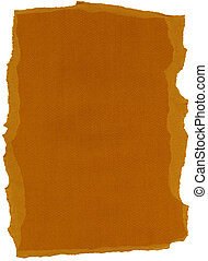 Isolated Fiber Paper Texture - Rust XXXXL - Texture of rust...