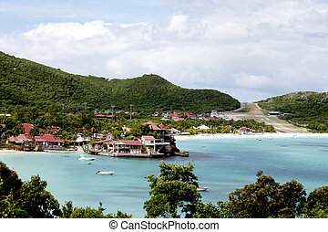 Eden Rock hotel and St Barth airport - ST BARTH,FRENCH WEST...