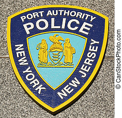 Port Authority Police NY NJ emblem - BROOKLYN, NEW YORK -...