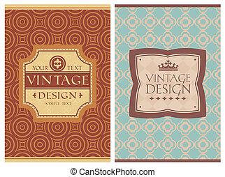 vintage retro cards