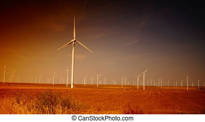 Ecology wind turbines