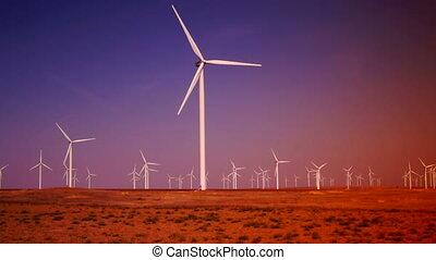 Ecology wind turbines